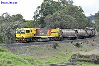 ACN4168 on 1832 Alumina train seen here heading though Beela for Bunbury on the 16th June 2019
