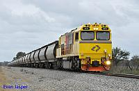 ACN4173 on 7874 Alumina train seen here heading though Pinjarra South for Calcine on the 30th August 2014