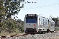 ADP101/ADP103 on 3209 Transwa Australind service seen here heading though South Pinjarra on the 27th August 2019
