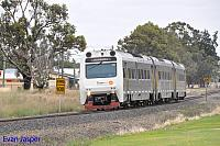 ADP101/ADQ121/ADP103 on 1209 Transwa Australind service seen here heading though Yarloop on the 29th December 2019