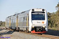 ADP101/ADQ122/ADP102 on 7502 Australind service seen here heading though Keysbrook on the 20th September 2014