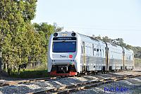 ADP101/ADQ122/ADP102 on 7510 Australind service seen here heading though Mundijong on the 20th September 2014
