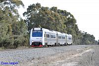 ADP102/ADQ121/ADP103 on 4510 Transwa Australind service seen here passing though North Pinjarra on the 7th October 2015