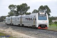ADP102/ADQ122/ADP103 on 7503 empty Australind service seen here arriving into Bunbury from Picton on the 28th June 2014