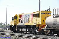 DBZ2309 on 5923 Caustic train seen here arriving into Bunbury Harbour on the 3rd March 2016