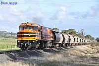 DBZ2310 on 1876 Alumina train seen here heading though Brunswick Junction North for Calcine Pinjarra on the 16th June 2019