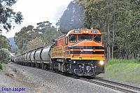 DBZ2310 on 2873 Alumina train seen here heading though Burekup on the 30th September 2019