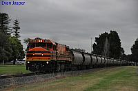DBZ2310 on 2876 Alumina train seen here heading though Harvey on the 30th September 2019