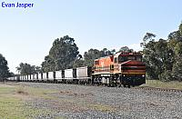 DBZ2310 on 3253 empty coal train seen here heading though Keysbrook on the 30th July 2019