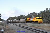 P2512 on 7873 Alumina train seen here heading though Alumina Junction for Bunbury on the 13th June 2020