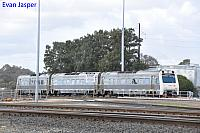 ADP101/ADQ121/ADP102 on 7503 Australind service is seen here about to depart Picton Yard for Bunbury Station on the 13th June 2020