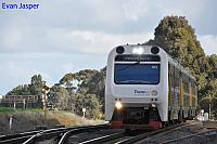 ADP102/ADQ121/ADP101 on 7510 Australind service is seen here departing Brunswick Junction for Perth on the 13th June 2020