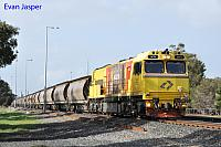 ACN4173 on 1832 Alumina service seen here rolling though Picton Yard for Bunbury Harbour on the 28th June 2020