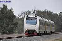 ADP103/ADQ121/ADP101 on 2209 Australind service seen here heading though Pinjarra South for Bunbury on the 29th June 2020
