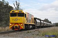P2507 on 1874 Alumina train seen here passing though Alumina junction for Calcine Pinjarra on the 16th June 2019
