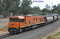 P2509 on 1876 Alumina train seen here heading though Pinjarra on the 29th December 2019