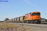 P2509 on 3872 Alumina train seen here heading though South Pinjarra on the 27th August 2019