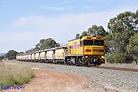 P2515 on 4271 Lime train seen here passing though North Pinjarra on the 7th October 2015
