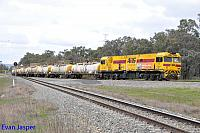 PA2819 on 7903 Caustic train seen here rolling though Alumina Junction for Bunbury on the 30th August 2014
