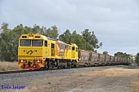 S3302 on 1974 loaded bauxite train seen here heading though Alumina Junction on the 29th December 2019