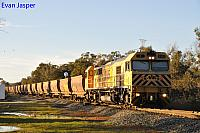 S3303 on 3966 loaded bauxite train seen here heading though Alumina Junction on the 27th August 2019