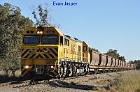 S3303 on 4969 empty bauxite train seen here heading though Alumina Junction on the 17th July 2019
