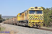 S3303 on 7944 bauxite train seen here heading though Mundijong on the 20th September 2014