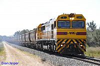S3304 on 7953 empty bauxite train seen here heading though Alumina Junction on the 20th September 2014