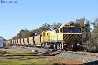 S3305 on 4968 loaded bauxite train seen here heading though Alumina Junction on the 17th July 2019