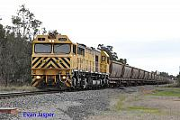 S3305 on 5971 empty bauxite train seen here heading though Alumina Junction for Calcine Pinjarra on the 20th June 2019