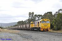 S3307 on 7971 empty bauxite train seen here heading though North Dandalup on the 7th December 2019