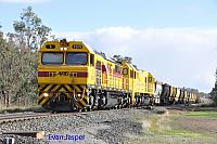 S3309 and S3310 on a late running 7961 empty bauxite train seen here heading though Alumina Junction for Calcine Pinjarra on the 16th June 2019
