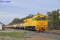 S3310 on 5238 Caustic train seen here heading though Alumina Junction for Kwinana on the 6th June 2019