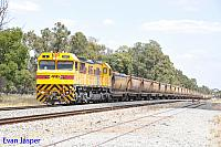 S3311 on 5962 loaded bauxite train seen here powering though Mundijong on the 18th February 2016