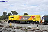 A close up shot of DAZ1901 working 5AZ2 Centenary train from Pinjarra to Forrestfield seen here heading though Forrestfield south on the 30th October 2014
