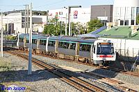 Transperths A set 32 arriving into Armadale Station from Perth on the 23rd January 2016