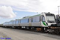 Transperth newiest B set 109 sits at PFT Kewdale on the 11th August 2015
