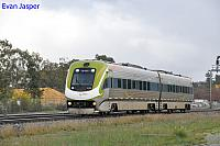 WEA031/WEB041 on 2089 Transwa Avonlink service seen here heading though Midland for Merredin on the 16th July 2018