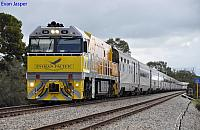 NR18 on 1PA8 Indian Pacific at Northam on the 4th September 2011