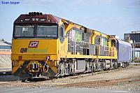6007 and 6008 at Forrestfield Yard on the 17th January 2011