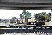 AC4307 on 5430 Sulphur train seen here powering though Forrestfield South on the 3rd May 2019