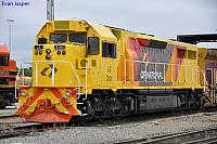 LZ3101 in the new QR National colours at Forrestfield Yard on the 24th January 2011