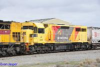 LZ3106 second unit working 6197 loaded cement and lime train seen here heading though Forrestfield south on the 4th August 2017