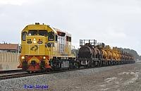 LZ3106 on 1167 acid train seen here heading though Thornlie on the 7th September 2014