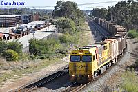 Q4006 on 7430 Sulphur train seen here heading though High Wycombe for Kwinana on the 10th May 2020