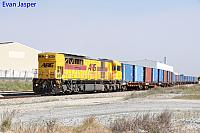 Q4010 on 5195 Container train seen here at Forrestfield South on the 5th October 2017