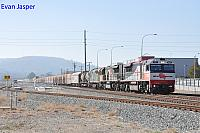 SCT003, SCT015 and 8026 on 2MP9 SCT freighter seen here heading though Midland for Forrestfield on the 9th April 2020