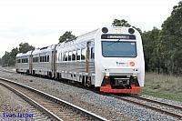 ADP101/ADQ122/ADP102 on 7209 Australind service is seen here heading though Mundijong Junction for Bunbury on the 30th August 2014