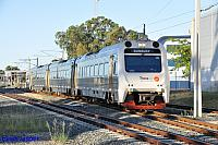 ADP101/ADQ122/ADP102 on 7215 Transwa Australind service seen here arriving into Armadale on the 23rd January 2016