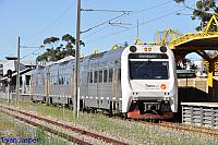ADP101/ADQ122/ADP103 on 7215 Australind service is seen here waiting to do its return service back to Bunbury on the 10th January 2015